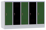 00150454 Szafa dla dzieci, 5 segmentów, 5 drzwi (wymiary: 978x1480x480 mm)