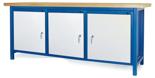 00853659 Stół warsztatowy, 3 drzwi (wymiary: 2100x900x740 mm)
