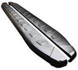 01655945 Stopnie boczne, czarne - Mitsubishi Outlander 2012- (długość: 171 cm)