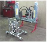 02938348 Belka herbicydowa BHh - sterowanie hydrauliczne, dwustronna, ocynkowana (liczba dysz: 3, średnia szerokość robocza: 2,2m)