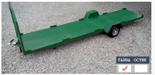 02938383 Wózek sadowniczy czteropaletowy W-4, wersja: malowana (ładowność: 1600 kg)