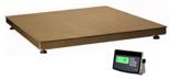 04048953 Waga platformowa ze stali szlachetnej z legalizacją (nośność: 300 kg, podziałka: 100 g, wymiary: 1000x1000 mm)