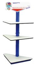 """05045607 Słupek ekspozycyjny """"TOTEM"""" - pojedynczy  ART.950T (wymiary: 125 x 68 x 210 cm)"""