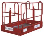 08126659 Platforma ręczna Camac AS-15 (udźwig: 240 kg)