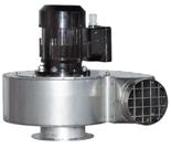 08549476 Wentylator przeciwwybuchowy promieniowy stanowiskowy WP-9-E/Ex (obroty synchroniczne: 3000 1/min, moc: 2,2 kW, wydajność wentylatora: 2800 m3/h)