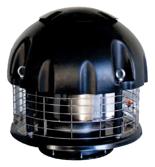 08549505 Wentylator chemoodporny przeciwwybuchowy dachowy SPARK-CHEM-160/1500/Ex (obroty synchroniczne: 1500 1/min, moc: 0,12 kW, wydajność wentylatora: 670 m3/h)