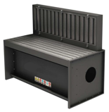 08549581 Odciągi stanowiskowy, stół z wyciągiem SLOT 3000 (wymiary stołu: 1600x750 mm)