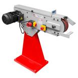 44350099 Szlifierka taśmowa do metalu Holzmann MSM 75 (wymiary taśmy: 2000x75 mm, prędkość taśmy: 34 m/min, moc: 4,5 kW)