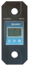 44930000 Precyzyjny dynamometr z wyświetlaczem do pomiaru sił rozciągających oraz ciężaru zawieszonych ładunków Tractel® Dynafor™ LLX1 (udźwig: 2 T)
