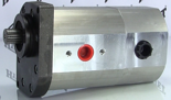 72355177 Pompa hydrauliczna dwusekcyjna (wydajność: 42+17 l/min, objętość geometryczna: 26+11 cm3/obr)
