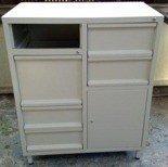 77157247 Szafa narzędziowa, 5 szuflad, 1 szafka (wymiary: 1500x800x500 mm)
