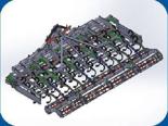 95247931 Agregat uprawowy U 382 składany hydraulicznie (szerokość robocza: 5,5 m, liczba zębów: 55, zapotrzebowanie mocy: 140 KM)