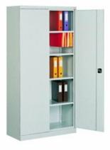 99551654 Szafa biurowa 0,7mm, 2 drzwi, 4 półki (wymiary: 1990x800x435 mm)
