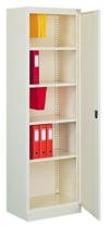 99551691 Szafa biurowa 1,0mm, 1 drzwi, 4 półki (wymiary: 1990x600x435 mm)