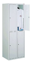 99552247 Szafka ze schowkami 0,6-0,8mm, 4 drzwi (wymiary: 1800x800x490 mm)