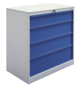 99552463 Szafka warsztatowa, 4 szuflady (wymiary: 1051x1000x585 mm)