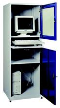 99552541 Szafka pod komputer przemysłowy, drzwi otwierane oddzielnie, bez wentylatora i listwy zasilającej (wymiary: 1750x640x630 mm)