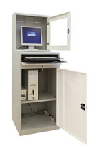 99552545 Szafka pod komputer przemysłowy, bez wyposażenia (wymiary: 1750x640x630 mm)