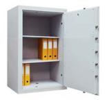 99552661 Sejf gabinetowy dwupłaszczowy 0 klasy, 2 półki, 1 drzwi (wymiary: 800x540x435 mm)
