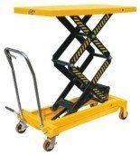 DOSTAWA GRATIS! 00546099 Wózek paletowy stołowy (udźwig: 700 kg, wymiary platformy: 1220x610 mm, wysokość podnoszenia min/max: 445-1500 mm)