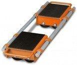 DOSTAWA GRATIS! 44340167 Podwójne rolki transportowe Unicraft (udźwig: 12 t)