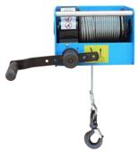 DOSTAWA GRATIS! 44929815 Ręczny wciągnik linowy z przekładnią ślimakową Tractel® CAROL™ TS1500 (bez liny, udźwig: 1500 kg)