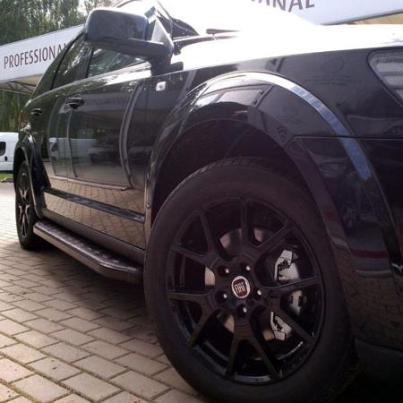 01655964 Stopnie boczne, czarne - Porsche Cayenne 2010- (długość: 193 cm)