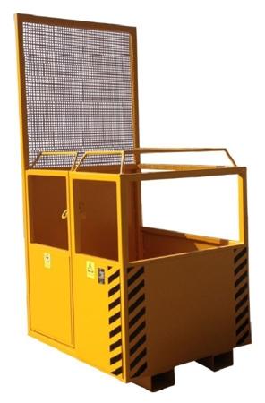 33948641 Kosz na ludzi do wózka widłowego miproFork TWK 1000 (udźwig: 300 kg, powierzchnia podłogi: 1000x1200 mm)