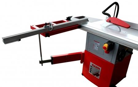 44350024 Tarczówka stolarska Holzmann TS 250FL 230V (max średnica brzeszczotu piły: 254 mm, stół roboczy: 800 x 350+270 mm)
