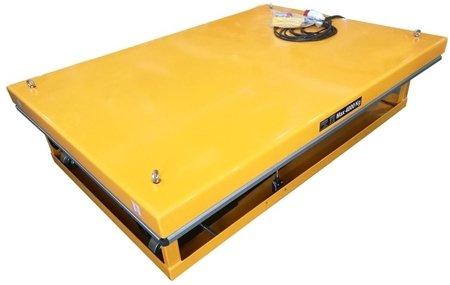 DOSTAWA GRATIS! 44366762 Profesjonalna platforma, stół podnośny dwunożycowy (udźwig: 4000kg, wymiary platformy: 1700x1200 mm, wysokość podnoszenia min/max: 400-2050 mm)