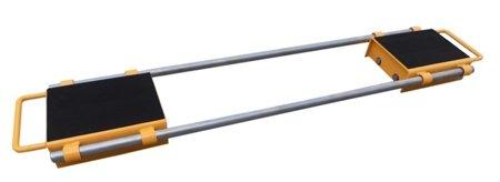 DOSTAWA GRATIS! 44366795 Podwójne rolki transportowe, transportery (udźwig: 6000 kg)