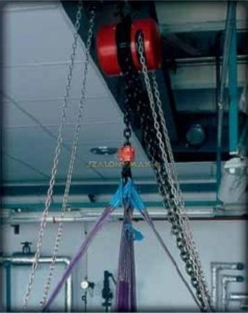 DOSTAWA GRATIS! 2202696 Wciągnik łańcuchowy z przekładnią planetarną Z100/1.6t (wysokość podnoszenia: 3m, udźwig: 1,6 T)