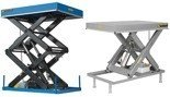 01843671 Podnośnik, podest nożycowy ESS-10/82-1C (udźwig: 1000 kg, wymiary platformy: 1350x800 mm, wysokość podnoszenia min/max: 180-1000 mm, moc: 0,8kW)