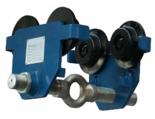 33917065 Wózek do podwieszania i przesuwania wciągników po dwuteowniku POT 5 (udźwig: 5 T, szerokość profilu: 90-220 mm)