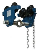 33922634 Wózek do podwieszania i przesuwania wciągników po dwuteowniku  (udźwig: 3 T, szerokość profilu: 160-305 mm)