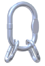 33954993 Ogniwo zbiorcze nierdzewne klasy 6 VWI 16 (udźwig: 13,2 T)