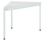 99551894 Stół biurowy trójkątny, wersja: lux (wymiary: 740x800x800 mm)