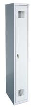 99551952 Szafka ubraniowa 0,8mm, 1 drzwi, zamek cylindryczny zamykany w 3 punktach (wymiary: 1800x300x500 mm)