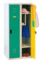 99552319 Szafka dla przedszkolaków, 2 drzwi, wersja standard (wymiary: 1350x600x500 mm)