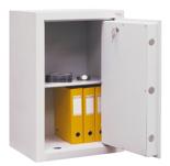 99552668 Sejf gabinetowy dwupłaszczowy I klasy, 1 półka, 1 drzwi (wymiary: 800x600x520 mm)