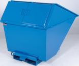 99724683 Pojemnik wychylny z pokrywą GermanTech TL 400 (pojemność: 320 L)