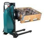 99724829 Wózek paletowy podnośnikowy elektryczny z przechyłem GermanTech Ergo - EL (max wysokość: 900 mm, udźwig: 800 kg, długość wideł: 1140 mm)