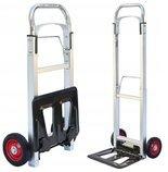 BEDREW Wózek magazynowy młynarka składany aluminiowy (udźwig: 100 kg, wymiary podestu: 35x24 cm) 18677159