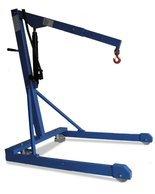 DENTA Żuraw lekki z pompą ręczną o podwójnym działaniu, podwozie równoległe (udźwig: 500 kg) 72278447