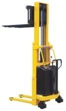 DOSTAWA GRATIS! 00546107 Wózek podnośnikowy półelektryczny (udźwig: 1000 kg, min./max. wysokość wideł: 85/3000 mm)