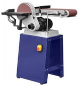 DOSTAWA GRATIS! 02861469 Szlifierka taśmowa pion poziom tarczowa (rozmiar taśmy: 1220x150 mm, rozmiar tarczy: 225mm, moc silnika: 550W)