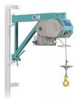 DOSTAWA GRATIS! 05668342 Wciągarka linowa budowlana z przedłużanym wysięgnikiem + kaseta sterownicza na kablu 5m (udźwig: 200 kg, wysokość podnoszenia: 30 m)