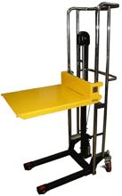 DOSTAWA GRATIS! 13360488 Wózek podnośnikowy masztowy ręczny (udźwig: 400 kg, wymiary platformy: 650x576 mm, wysokość podnoszenia min/max: 85-1500 mm)