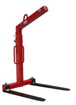 DOSTAWA GRATIS! 3398562 Zawiesie widłowe do podnoszenia palet KMI 1,5 (udźwig: 1,5 T, długość wideł: 1000 mm)