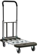DOSTAWA GRATIS! 39955488 Wózek platformowy, aluminiowy (udźwig: 150 kg)